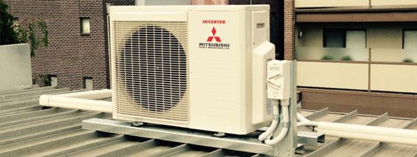 Servicio profesional de instalación de aire acondicionado